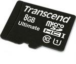Obrázok produktu Transcend SDHC 600x, Ultimate, Class10, UHS-I, pamäťová karta 8GB,