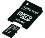 Obrázok produktu Transcend MicroSDHC, Class 10 UHS-I, pamäťová karta 8GB + SD adaptér
