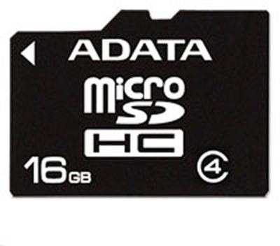 ADATA microSDHC karta - AUSDH16GCL4-R