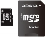 Obrázok produktu ADATA microSDHC karta, 16GB, adaptér SD
