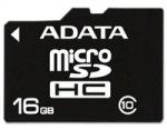 Obrázok produktu ADATA MicroSDHC, UHS-I Class10, pamäťová karta, 16GB