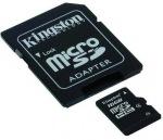 Obrázok produktu Kingston microSDHC karta, 16GB, adaptér SD