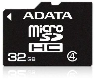 ADATA microSDHC karta - AUSDH32GCL4-R