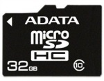 Obrázok produktu ADATA MicroSDHC Premier, USH-I Class10, pamäťová karta, 32GB
