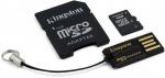 Obrázok produktu Kingston microSDHC karta ,32GB, adaptér SD+adaptér USB
