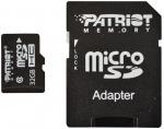 Obrázok produktu Patriot microSDHC karta, 32GB, adaptér SD