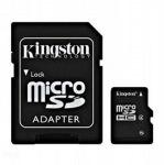 Obrázok produktu Kingston microSD karta, 32GB, adaptér SD