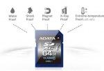 Obrázok produktu ADATA premier SDXC, UHS-1 class10, karta 64GB, (50MB/ 33MB/ s)