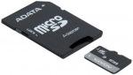 Obrázok produktu Adata Micro SDXC UHS-I class10, karta 64GB + Adaptér