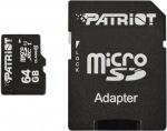 Obrázok produktu Patriot micro SDXC karta, 64GB, UHS-I