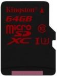 Obrázok produktu Kingston microSDXC, UHS-I U3, Class10, pamäťová karta 64GB (90 MB/s, 80 MB/s)