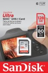 Obrázok produktu SanDisk Ultra pamäťová karta SDXC 128GB čitanie: až 80MB / s Class 10 UHS-I
