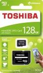 Obrázok produktu 128 GB . microSDHC karta Toshiba Class 10 UHS + adaptér