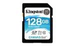 Obrázok produktu 128 GB . SDHC karta Kingston . Class 10 UHS-I U3 V30 ( r90MB / s,  w45MB / s )