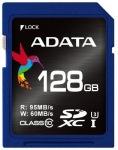 Obrázok produktu ADATA Premier Pro SDXC, UHS-I U3, Class 10, pamäťová karta 128GB, (95MB/s, 60MB/s)