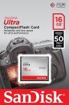 Obrázok produktu SanDisk CompactFlash Ultra, pamäťová karta 16GB
