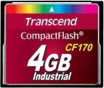 Obrázok produktu Transcend CompactFlash Industrial, pamäťová karta 4GB