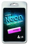 Obrázok produktu INTEGRAL Drive Neon 4GB USB 2.0 flashdisk,  ružový
