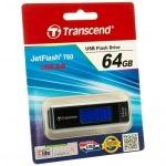 Obrázok produktu Transcend JETFLASH 760, 64GB, modrý