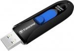 Obrázok produktu Transcend JetFlash 790K, USB kľúč 64GB, USB 3.0, výsuvný, čierno-modrý, (90MB/s, 28MB/s)