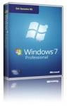 Obrázok produktu Microsoft Windows 7 Profesional SP1, 32/64-bit, OEM, ENG