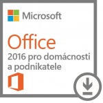 Obrázok produktu DELL OEM Microsoft Office Home & Business 2016 - pouze k HW Dell