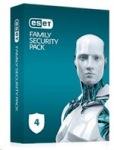 Obrázok produktu ESET Family Security Pack: Krabicová licencia pre 4 zariadenia na 18 mesiacov