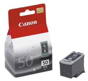 Canon PG50, čierna  - 0616B001