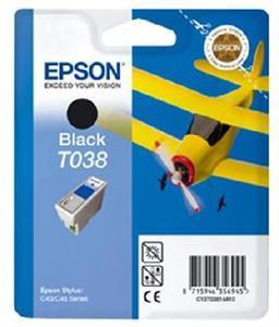 Epson T038, čierna  - C13T03814A10