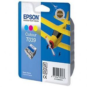 Epson T039, 3-farebná, pre Epson Stylus C43SX, C43UX, C45  - C13T03904A10