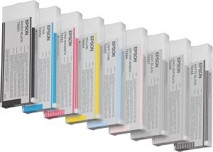 Epson T606, pre Stylus Pro 4450, žltá  - C13T614400