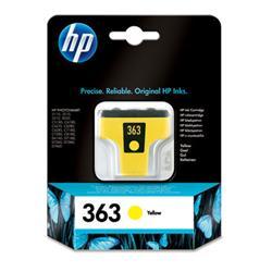 HP 363, C8773EE, žltá  - C8773EE