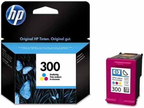 HP 300, CC643EE, 3-farebná, pre HP Deskjet D2560 - CC643EE