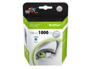 TB kompatibil s Brother LC 1000C - TBB-LC1000CY