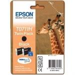 Obrázok produktu Epson T0711H, 2x čierna, TwinPack