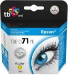 Obrázok produktu TB pre Epson T0714, žltá