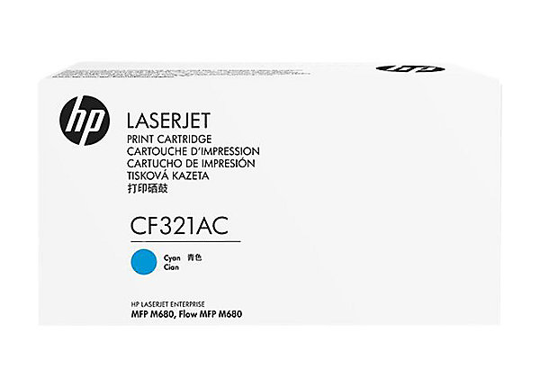 HP 653A - azurový Contract Toner - CF321AC
