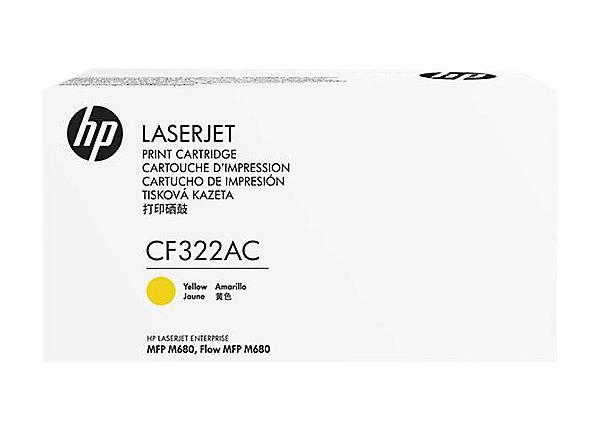HP 653A - žlutý Contract Toner - CF322AC