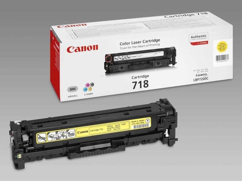 Canon toner CRG-718Y - 2659B002