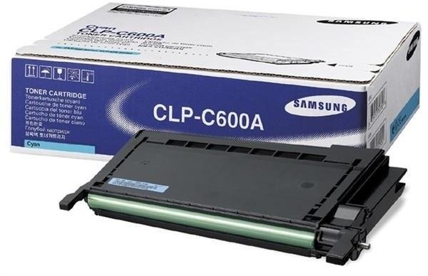 Samsung toner CLP-C600A - CLP-C600A/ELS