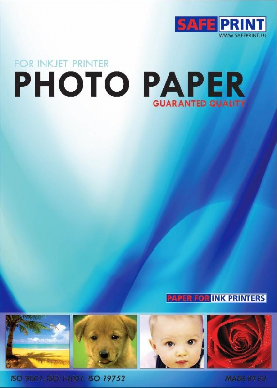 SafePrint, A4, matný fotografický papier - 2030061005