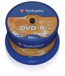 Obrázok produktu Verbatim médium DVD-R, 4.7GB, 16x, 50ks, pack spindl