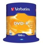 Obrázok produktu Verbatim médium DVD-R, 4.7GB, 16x, 100ks, pack spindl
