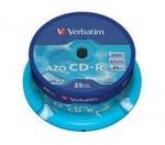 Obrázok produktu Verbatim - CD-R  700MB  52x  Crystal  25ks v cake obale