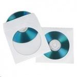 Obrázok produktu Hama CD / DVD ochranný obal papierový,  100 ks,  biely