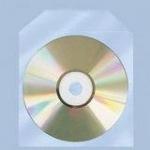Obrázok produktu Polypropylénová priehľadná obálka s klipom na 1CD