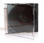 Obrázok produktu Obal na 1 médium, 5,2mm, slim, čierny tray, balenie 200ks