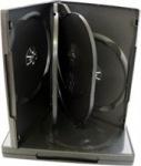 Obrázok produktu Obal na DVD médium čierny 24mm pre 6ks DVD
