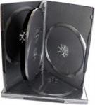 Obrázok produktu Obal na DVD pre 4 média, čierny, 14mm