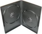 Obrázok produktu Obal na DVD pre 2 média, čierny, 14mm, A-kvalita